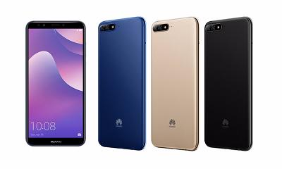 Thiết kế và màu sắc của Huawei Y7 Pro 2018