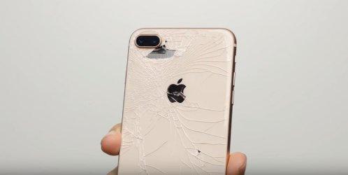 Iphone 8 mặt kính sau còn đắt hơn cả màn hình