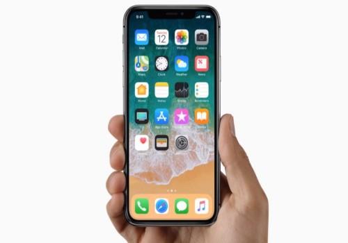 Nút Home biến mất trên IPhone X