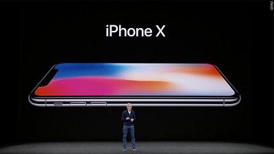 Điện thoại Iphone X.