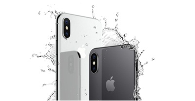 Với khá năng chống nước của Iphone X.