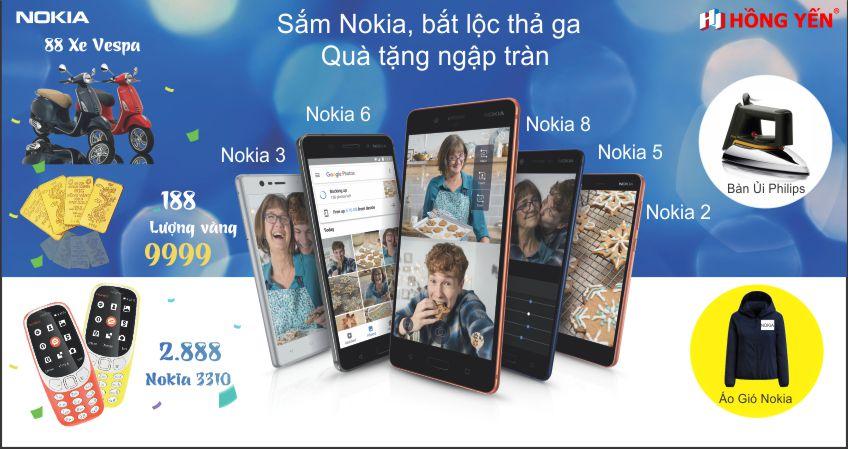 Chương trình ưu đãi Mua Nokia, Bắt lộc thả ga với tổng giá trị lên đến 66 tỷ đồng