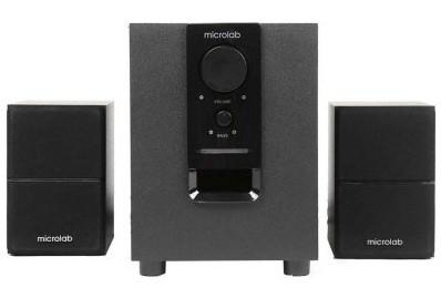 Loa Microlab M106BT kết nối dễ dàng với các thiết bị qua Bluetooth hay jack 3,5mm