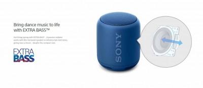 Sony SRS-XB10 với âm thanh khá lớn và cứng cáp.