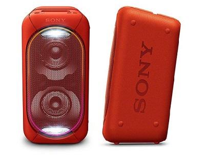 Loa Sony GTK-XB60 - Với những đường nét thiết kế tỉ mỉ, cứng cáp