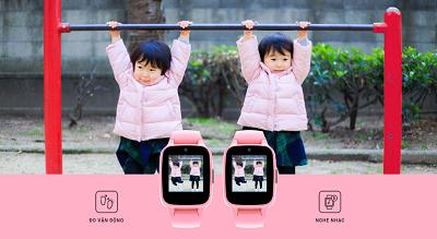 Tình năng đo vận động của trẻ giúp cha mẹ quản lí bé tối hơn