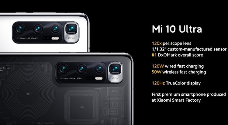 Điện thoại Xiaomi Mi 10 Ultra