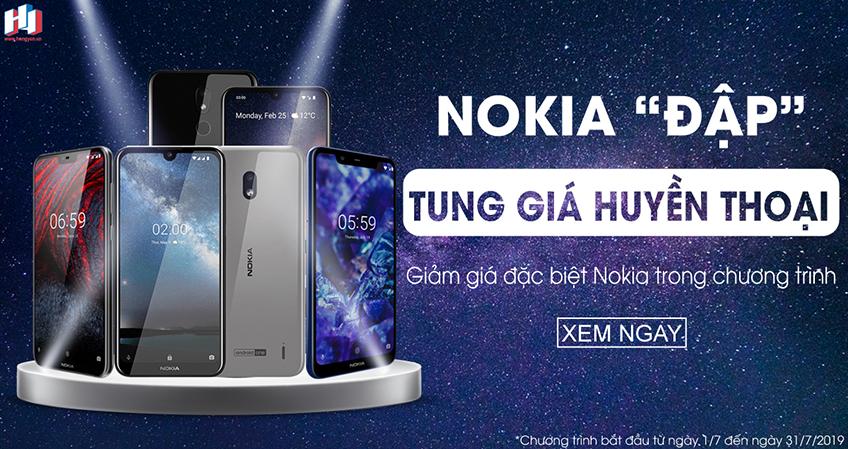 Khuyến mãi Nokia đập tung giá huyền thoại