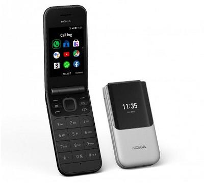 Các ứng dụng và 4G trên điện thoại Nokia 2720 Flip