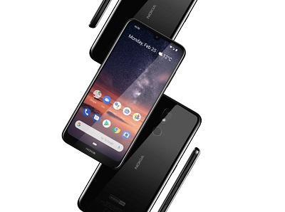 Camera trước và sau của điện thoại Nokia 3.2 2019
