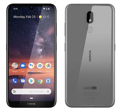 Tổng quan thiết kế chung của điện thoại Nokia 3.2 2019