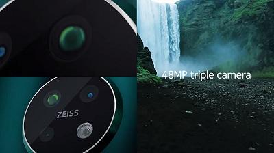 Camera tích hợp ống kính Zeiss trên điện thoại Nokia 7.2
