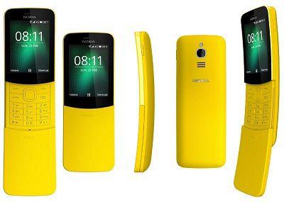 Nokia 8110 4G thiết kế lạ mắt, độc đáo