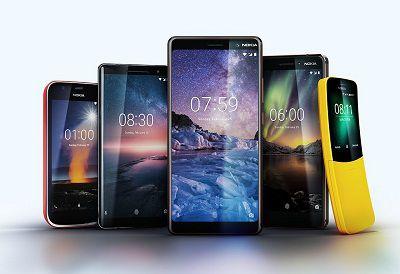 Sản phẩm ra mắt năm 2018 của hãng Nokia : Nokia 7 Plus, Nokia 8110 4G