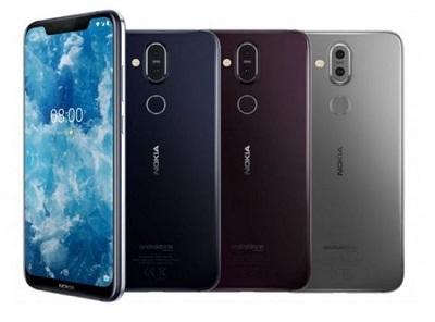 Điện thoại Nokia 8.1 - Với 3 màu sắc cực chất