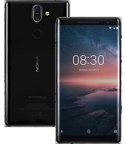 Nokia 8 Sirocco 2018.
