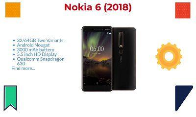 Cấu hình được cải thiện của Nokia N6 2018