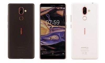 Thiết kế bắt mắt và sang trọng của Nokia 7 2018