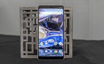 Màn hình hiển thị với độ phân giải tốt của Nokia 7 Plus