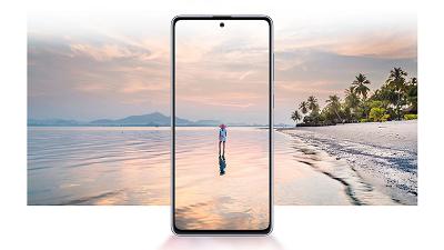 Màn hình Super AMOLED chuẩn điện ảnh trên điện thoại Samsung Galaxy Note 10 Lite