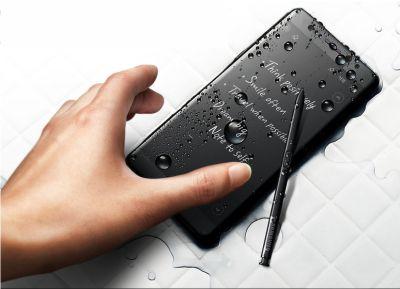 Samsung trang bị khả năng chống nước trên Note FE