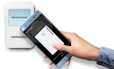 Thanh toán dễ dang với Samsung Pay trên Note FE