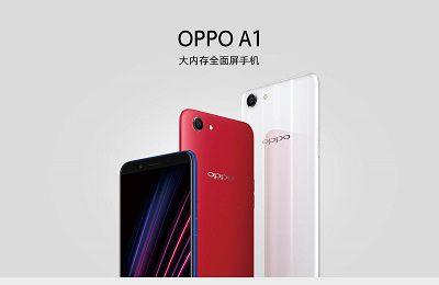 Điện thoại Oppo A1 ra mắt với thiết kế tinh tế.