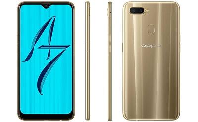 Tổng quan thiết kế chung của điện thoại Oppo A7