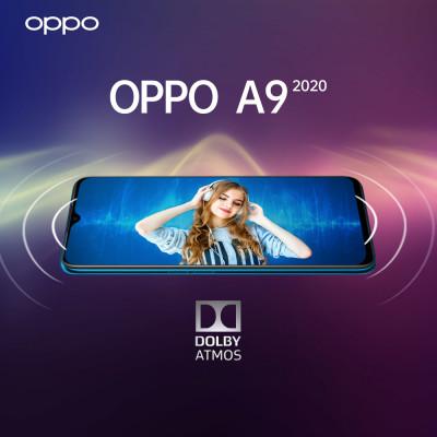 Hỗ trợ âm thanh vòm sống động trên Oppo A9 2020