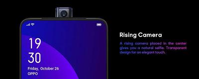 Camera selfie điểm nhấn đặc trưng trên điện thoại Oppo F11 Pro