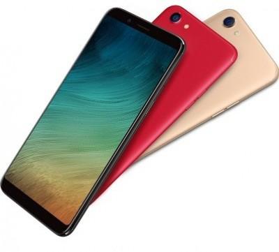 3 màu của smartphone màn hình không viền Oppo F5