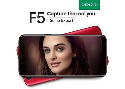 Về vẻ thiết kế bên ngoài của Oppo F5 cho thấy nó có thể so sánh ngang tầm với những sản phầm của Samsung, LG,...