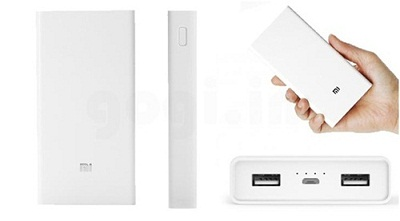 Sạc dự phòng Power Bank Xiaomi 20000mAh