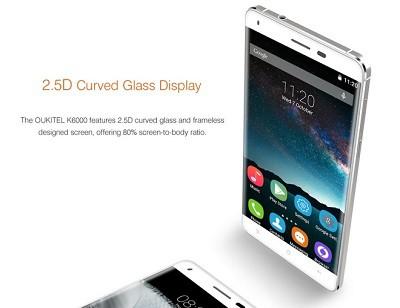 màn hình oukitel k6000