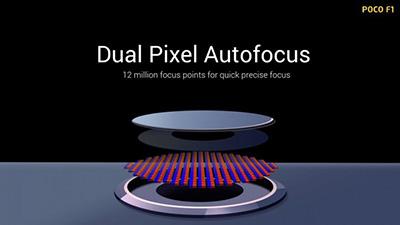 Dual Pixel Autofocus.