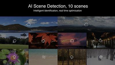 AI thông minh học và nhận biết khung cảnh.