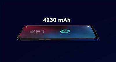 Dung lượng pin cao 4320mAh trên Realme 3.
