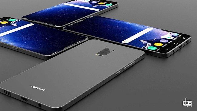 Concept cực đẹp của Galaxy S9