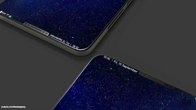 Thiết kế màn hình không viền vô cực của galaxy s9