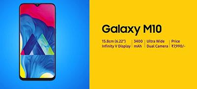 Samsung Galaxy M10 chính thức ra mắt