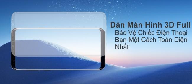 Đặt Trước Samsung Galaxy S8, s8 plus nhận ngay tấm dán màn hình full 3d