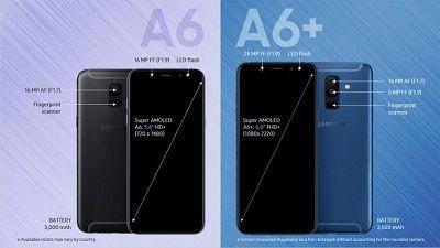 Camera kép dành cho sản phẩm Samsung Galaxy a6 Plus 2018.