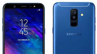 Camera trước và sau của Samsung Galaxy A6 2018 có độ phân giải 16Mpx