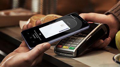 Ứng dụng Samsung Pay của Samsung Galaxy A8 2018