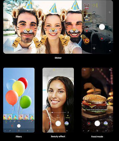 Cùng với những ứng dụng GIF vui nhộn trên Samsung Galaxy A8 và A8+