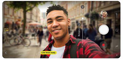 Camera selfile hổ trợ camera kép với điện thoại Samsung Galaxy A8 2018
