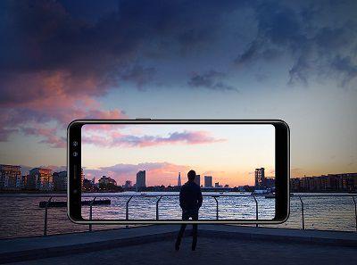 Điện thoại Samsung Galaxy A8 2018 với thiết kế màn hình vô cực