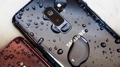 Tính năng chống nước IP 68 trên Samsung Galaxy S9 Plus