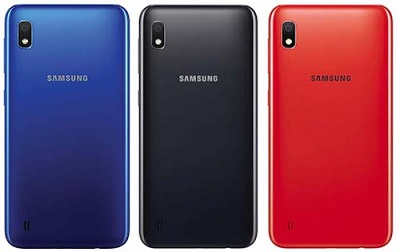 Với 3 màu sắc cơ bản trên Samsung Galaxy A10