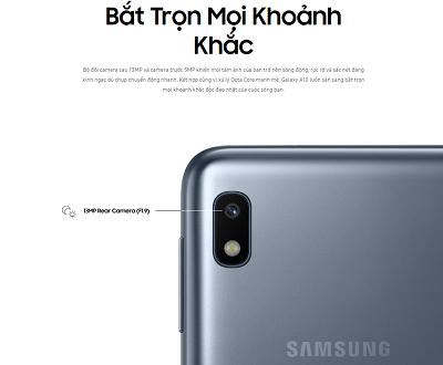 Bắt trọn mọi khoảnh khắc trên Samsung Galaxy A10